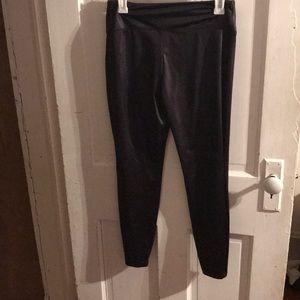 """Leather"" leggings"